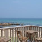 海沿いの風景は癒しの時間。潮風が香る糸島市のBistro&Cafe TIME(タイム)。