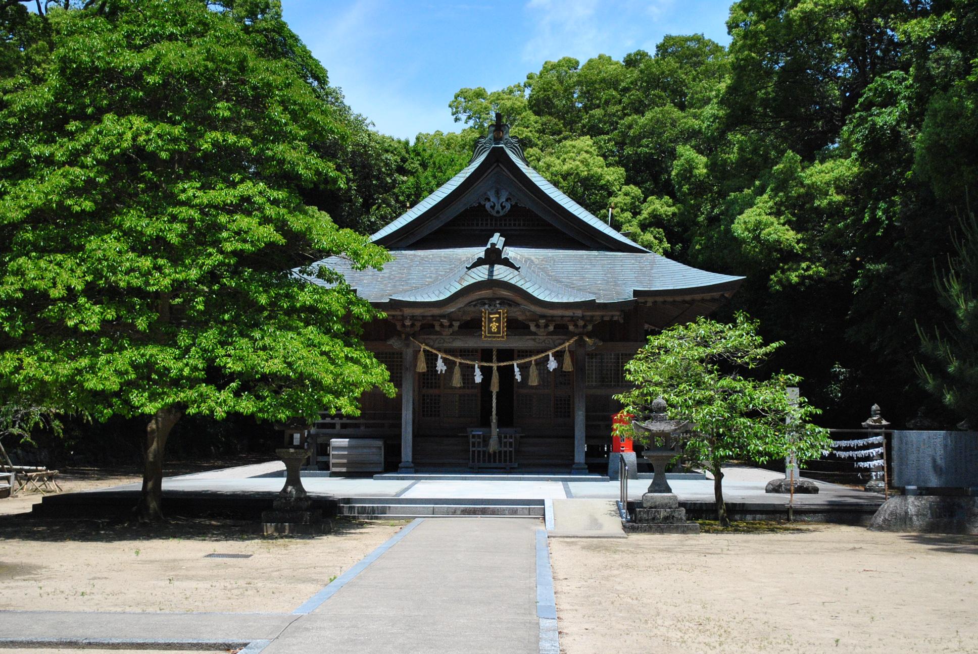私のパワースポット体験記。佐賀県唐津市の鏡神社篇。