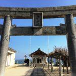 糸島半島で「嵐神社」巡り。海からの風が心地よい「二宮神社」にご参拝。