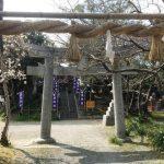 福岡県の嵐神社のひとつ、糸島市の小高い丘に鎮座する「潤神社」。