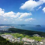 これぞ唐津という眺め!!唐津を一望できる素敵スポット「鏡山」。